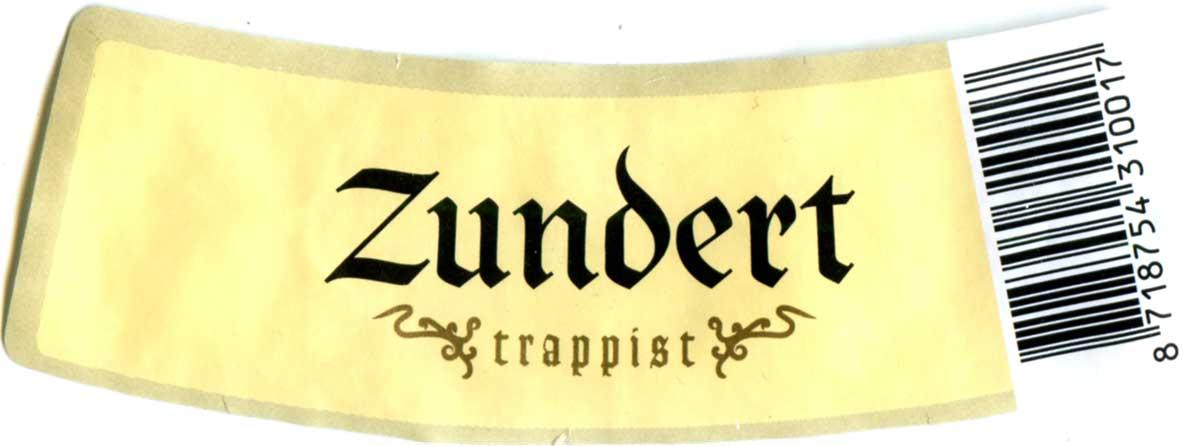 Brasserie De Kievit - Zundert Trappist Etiq_De-Kievit_Zundert